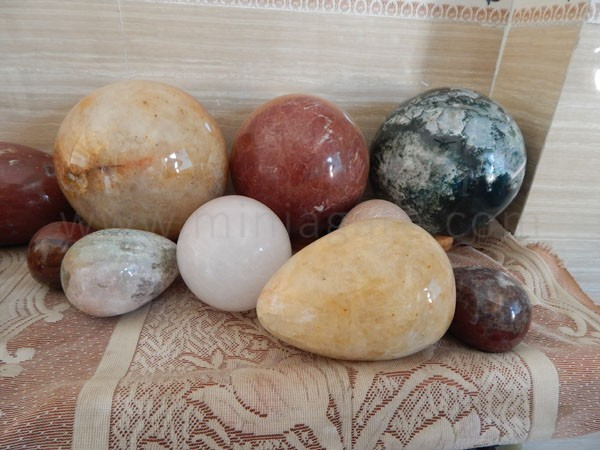 Balls/ Spheres and Eggs