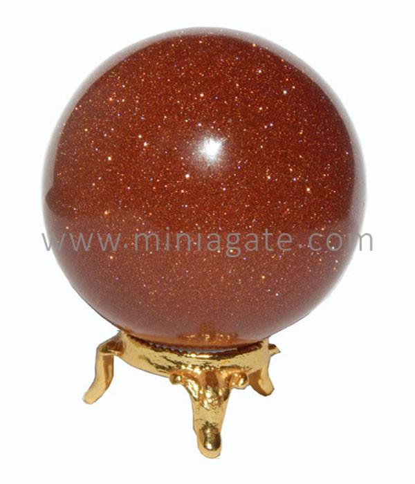 Brown Moonstone (Taramandal) Agate Sphere
