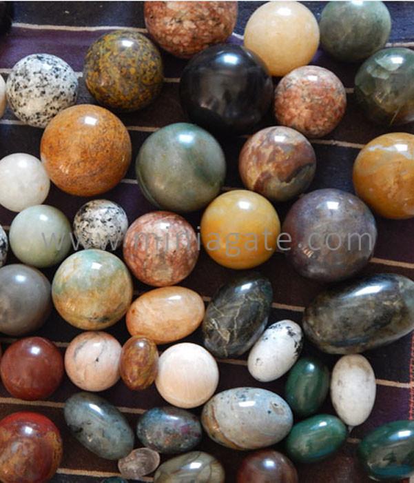 Assorted Healing Agate Balls/Spheres