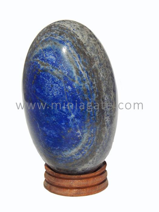 Lapis Lazuli Agate Egg
