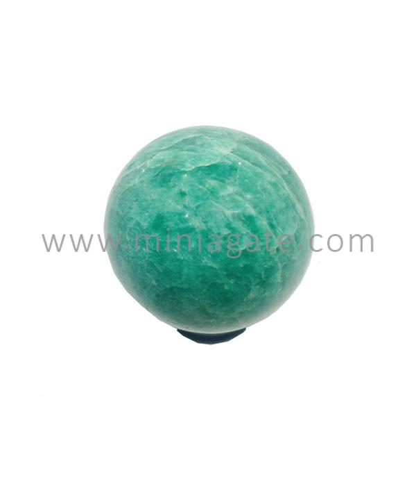 Amazonite Agate Stone Sphere