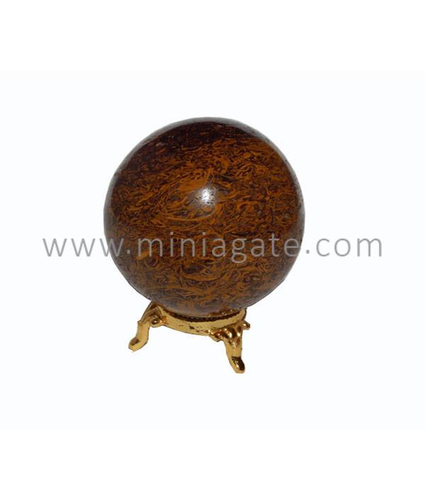 Maryam Agate Stone Sphere