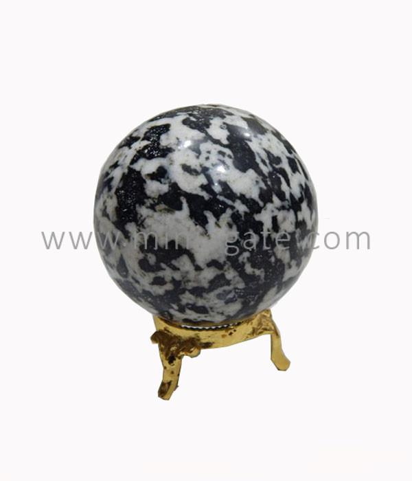 Tree Agate Stone Sphere